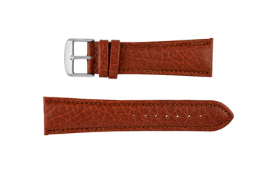 Hadley-Roma Men's Tan Genuine Leather Watch Strap MS899