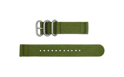 AWB Olive Two-Piece Ballistic Nylon NATO Watch Strap