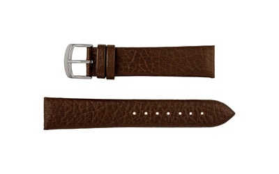 DB Straps Men's Mocha Distressed Grain Leather Watch Strap QGDB08320