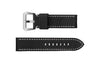 Speidel Men's Panerai® Style Black Wide Calfskin Leather Watch Strap MS702000