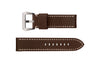 Speidel Men's Panerai® Style Brown Wide Calfskin Leather Watch Strap MS702100