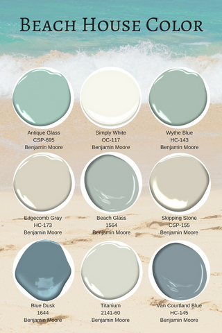 favorite best beach house paint colors benjamin moore
