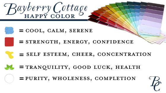 Happy Color Psychology Bayberry Cottage South Haven, Michigan