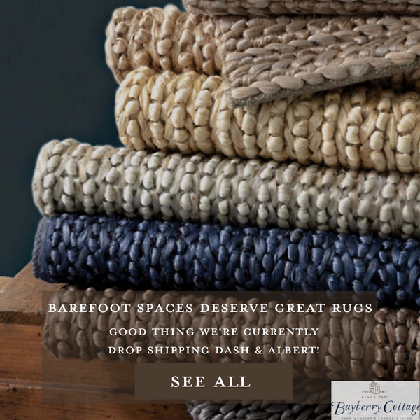 Dash & Albert Natural Jute Rug Colorways Bayberry Cottage South Haven, Michigan