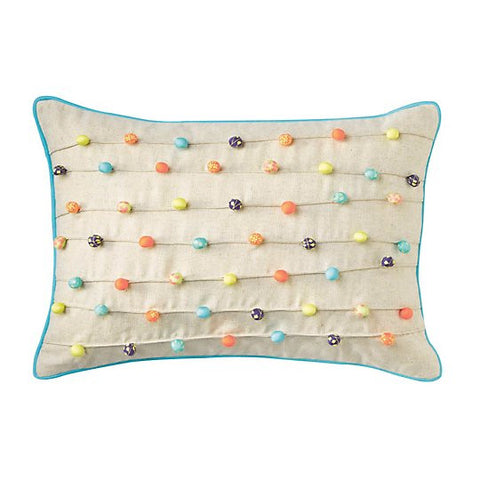"Marimba Cotton 14"" X 20"" Pillow"