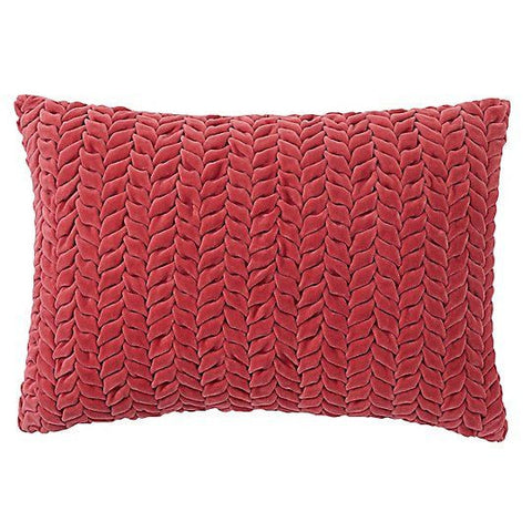 Braided Velvet Pillow