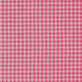 Azalea Pink Hounds Tooth Fabric Bayberry Cottage South Haven Michigan