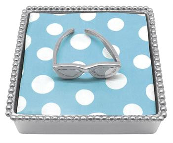 Sunglasses Beaded Napkin Box