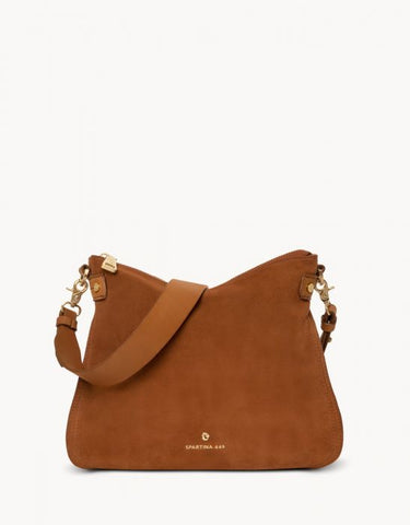 Siren Shoulder Cognac Bag