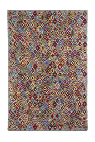 Argyle Multi Wool Rug