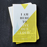 I Here to Live Out Loud - Journal