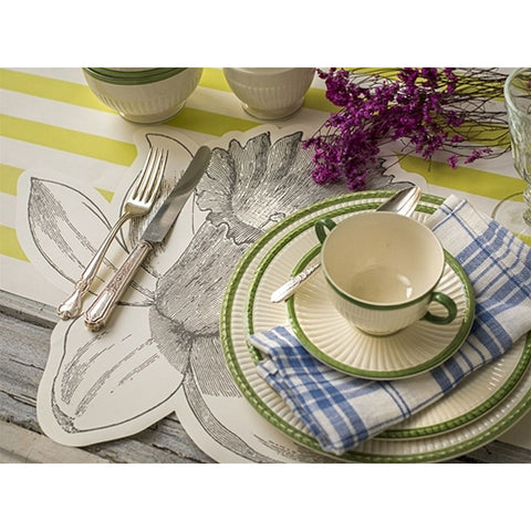 Die Cut Daffodil Placemat Sheets Pack of 12