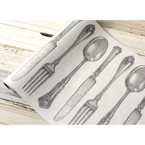 "Cutlery Table Runner 20""x25'"