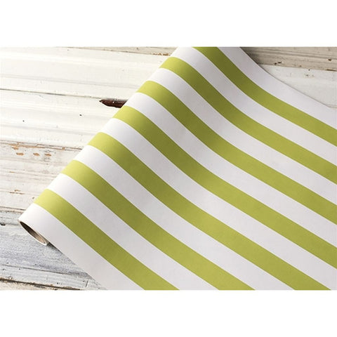 "Green Classic Stripe Runner 20""x25'"