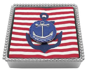 Blue Anchor Emblem Twist Box