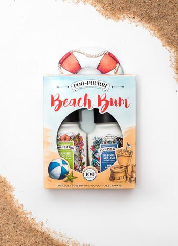 Beach Bum Gift Set-Tropical Hibiscus / Ship Happens
