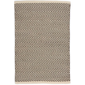 Arlington Indoor Outdoor Charcoal/Ivory Rug