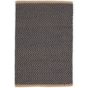 Arlington Indoor Outdoor Rug Navy/Camel 10x14