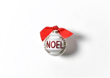 Noel-Berry Glass Ornament