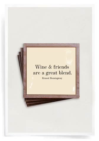 Wine and Friends-Coasters