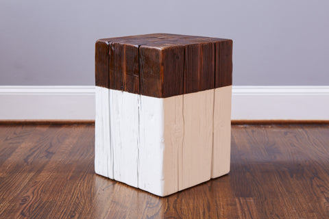 Square Mod Block Stool/Side Table