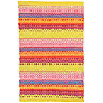 Fiesta Stripe Multi Indoor Outdoor Rug.