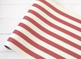 Classic Stripe Runner Red 20x25