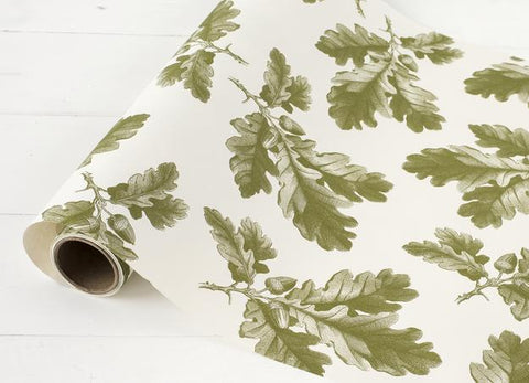 Oak Leaf Table Runner-Green