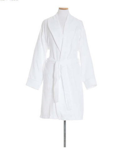 Montauk White Short Robe