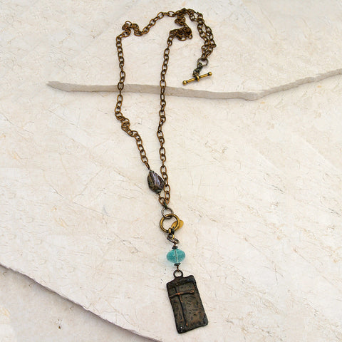 Cross Trinket Short or Long Necklace