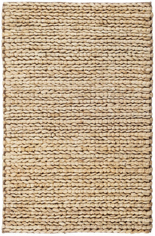 Jute Woven Natural Rug.
