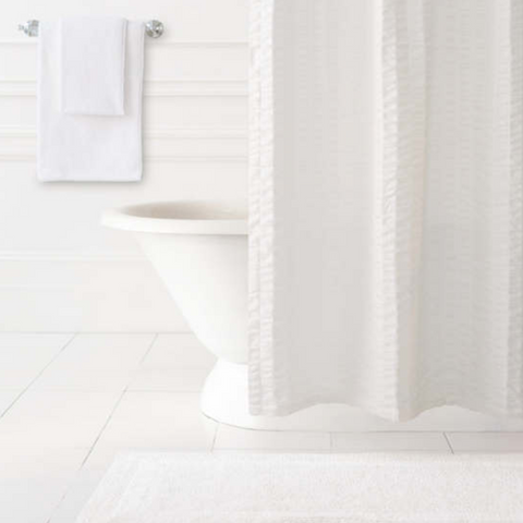 Signature White Bath Rug