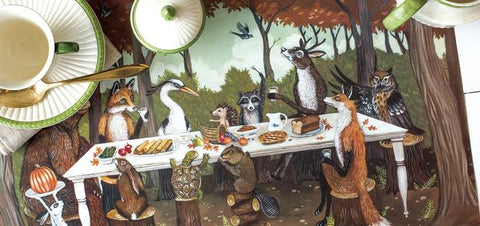 Thanksgiving Friends Placemat 30 Sheets