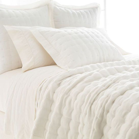 Brussels Ivory Quilted Sham