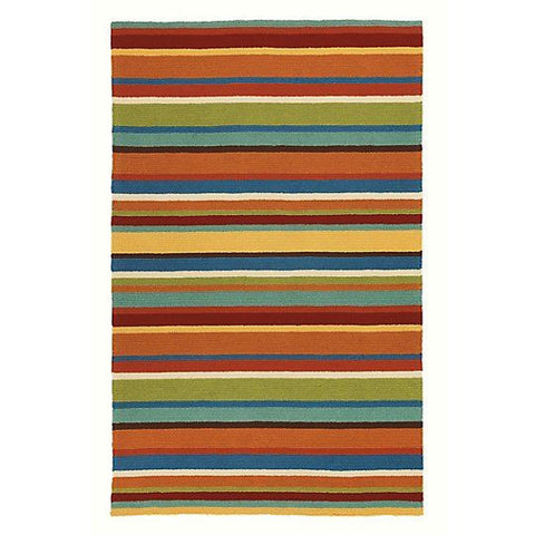 Cabana Stripe Indoor Outdoor Rug