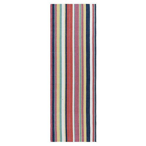 Canopy Stripe Indoor/Outdoor Rug.