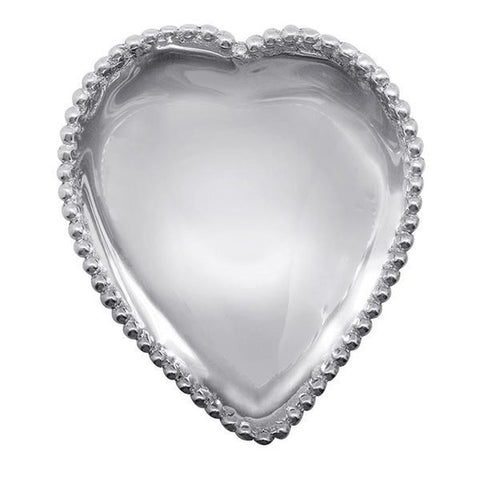 Beaded Heart Bowl