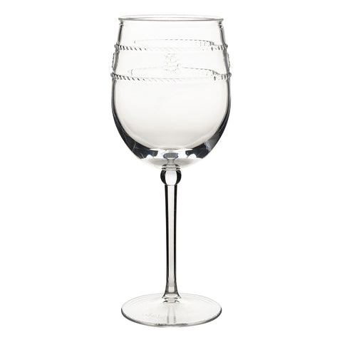 Isabella Acrylic Wine Glass S/4