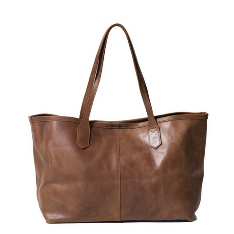 Amhara Tote Medium-Walnut