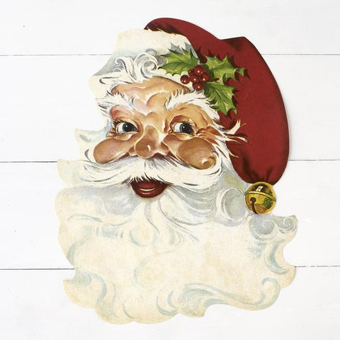 Die Cut Santa Placemat 12 Sheets
