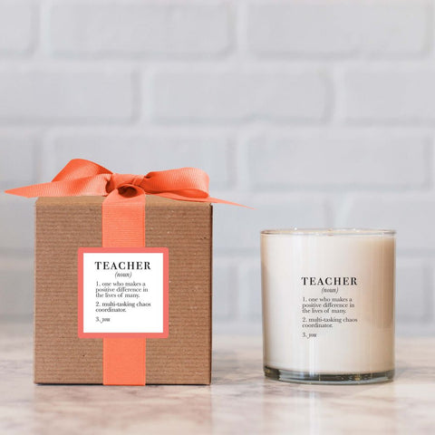 Teacher Definition Candle