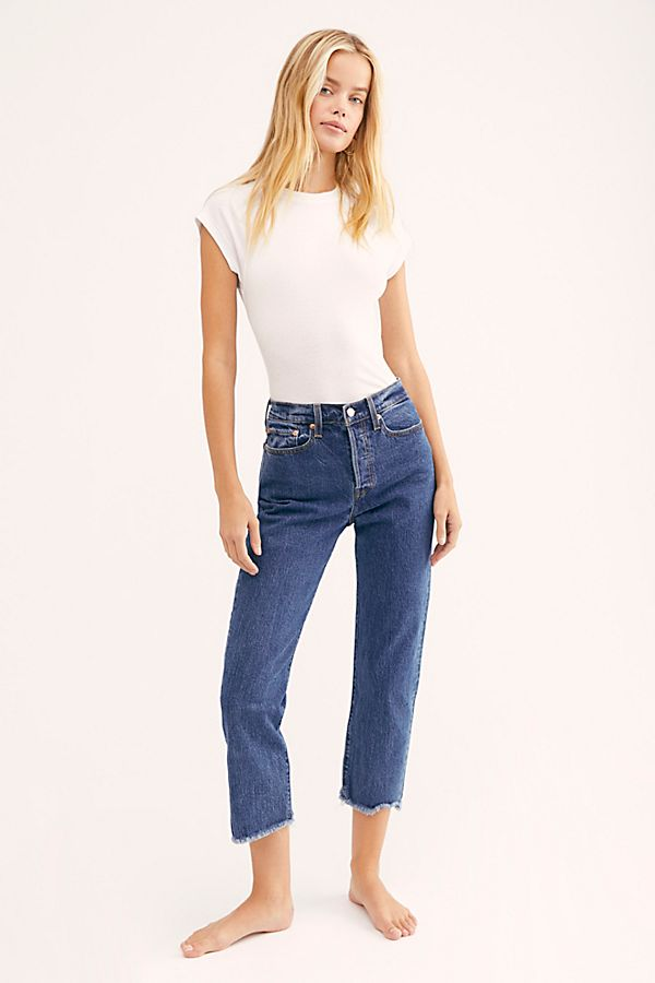 Levi Wedgie Fit Straight Jeans