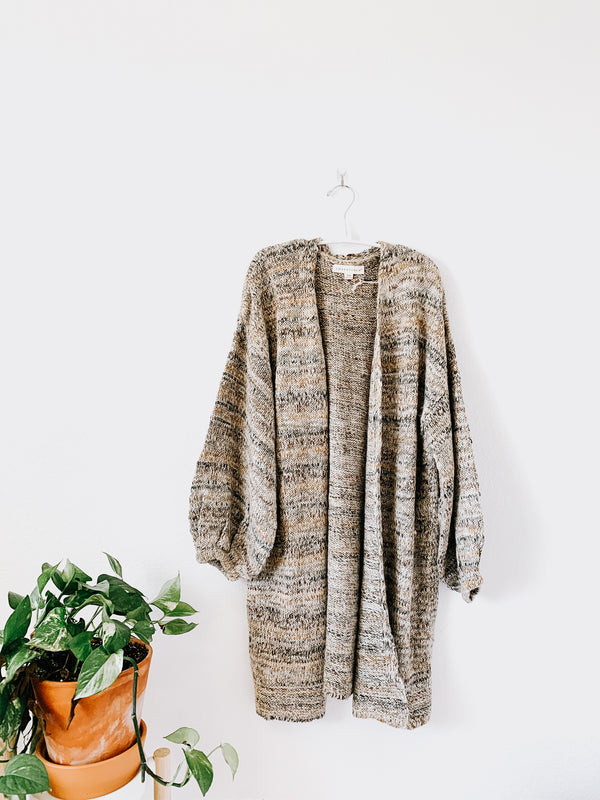 Lovestitch Story Melange Knit Cardi