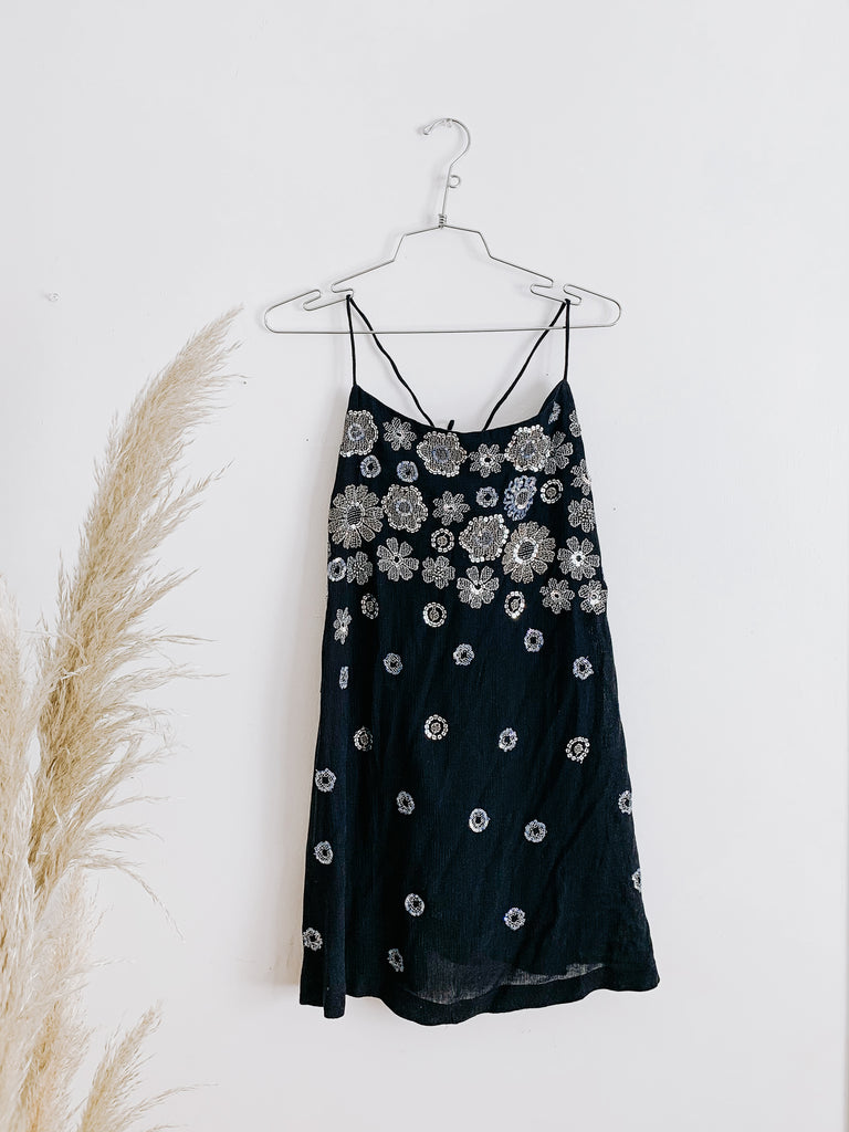 Free People Azealia Embellished Slip