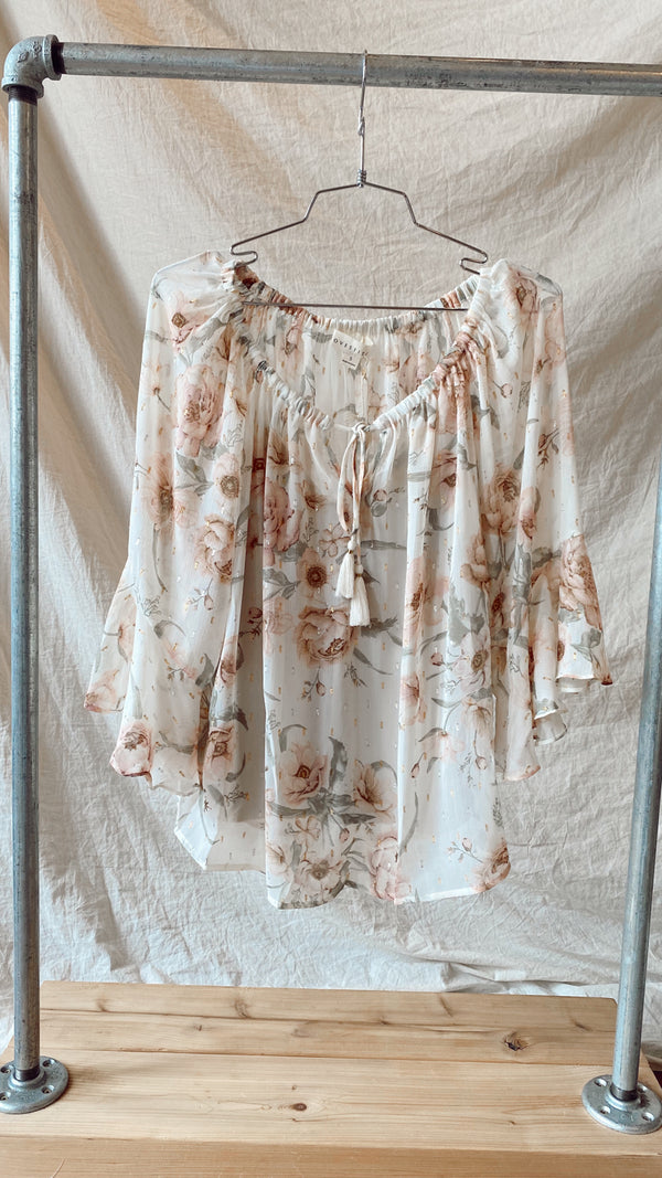 Lovestitch Jaime Flutter Blouse