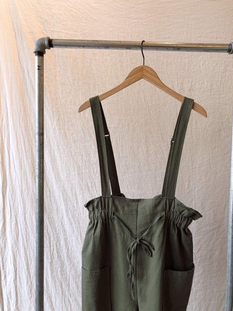 Sage Get Up & Go Over Jumpsuit