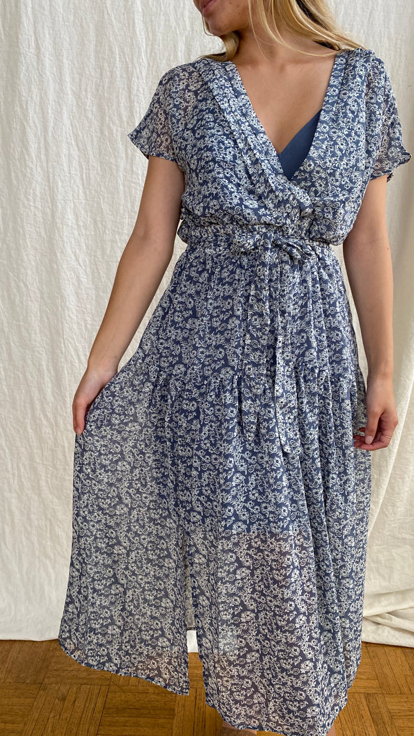 Lovestitch Dreamy Ditsy Floral Midi Dress
