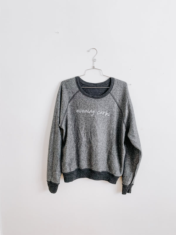 Cardio/Carbs Reversible Sweatshirt