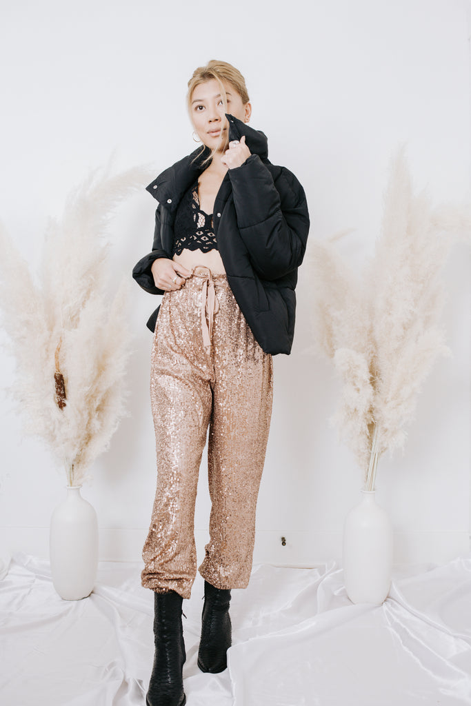 Free People Night Moves Sequin Harem