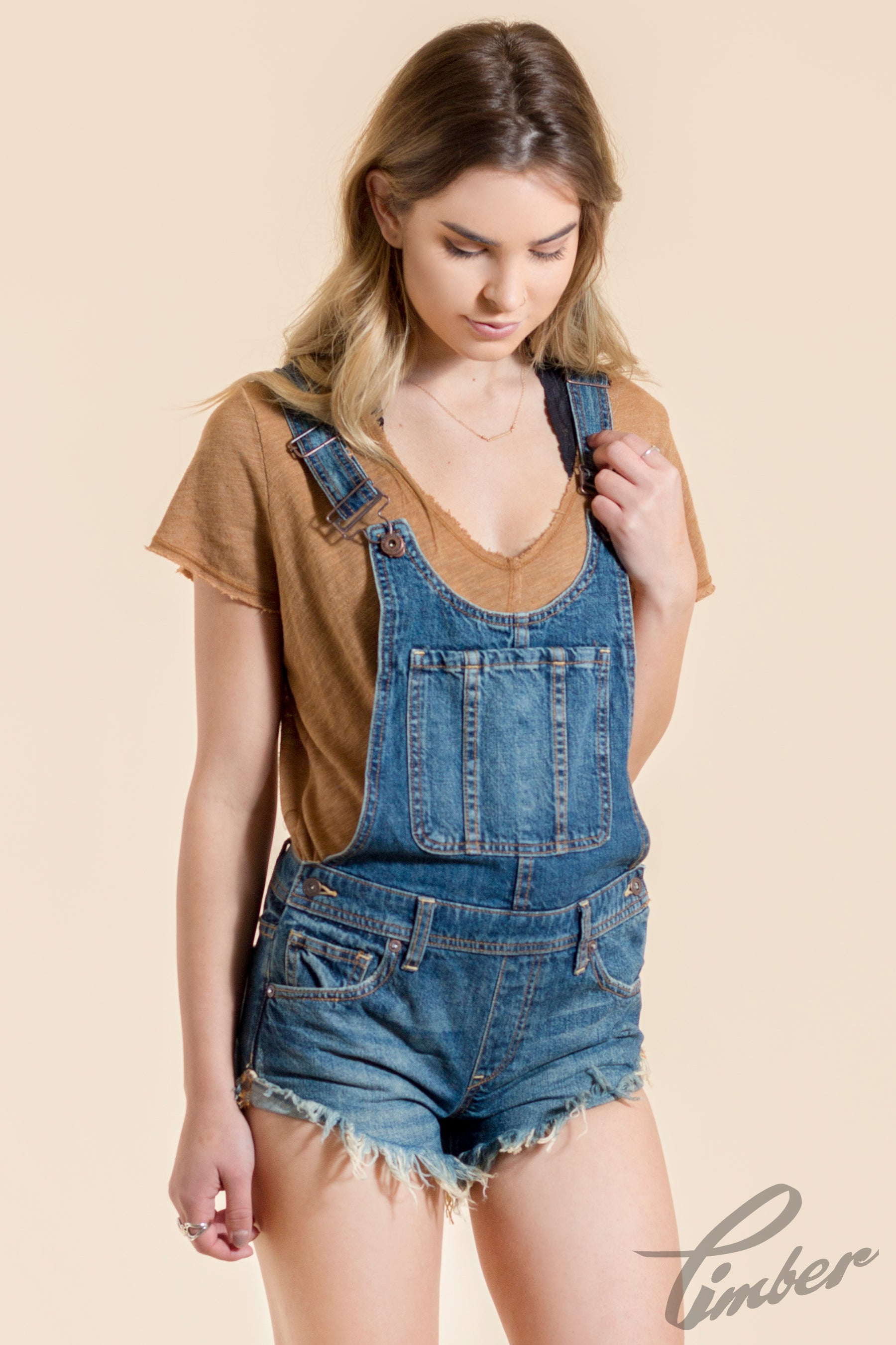 Free People Hi/Lo Babe Overall